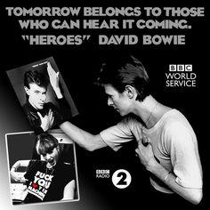 "BBC radio celebrates ""Heroes"" 40th anniversary - David Bowie Latest News"