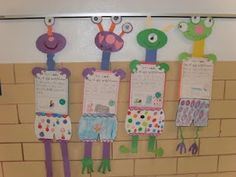 "End of year--""First Grade is out of this world because..."" using Aliens Love Underpants"