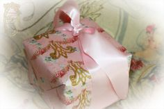 Marie Antoinette Roses Opus 23 Gift Wrap Paper from PaperNosh.com