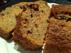 Every year for Christmas my Aunt Teri makes this awesome zucchini bread, I literally look forward to it every Christmas. So this year, I decided to share her awesome recipe with all of you and of course make a couple loavesof this yumminess for myself and my co-workers. This zucchini bread is über moist, just...