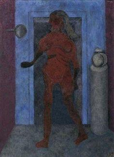 Mujer en un interior By Rufino Tamayo ,1977