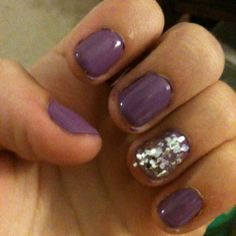 game day nails! go frogs :)