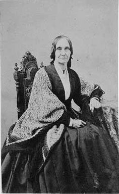 Amy Post, famous Quaker abolitionist, suffragist, spiritualist and station master for the Underground Railroad.  Taken from shacklesofyesterday.org.
