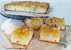 Apple Delight Slice - Stay at Home Mum Baking Recipes, Snack Recipes, Dessert Recipes, Snacks, No Bake Slices, Easy Slice, British Desserts, Freezer Cooking, Everyday Food