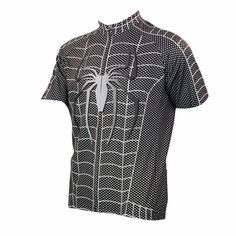 TopSpeed Spider-Man Bike Clothing Bicycle Clothes Cycling Short Sleeve  Jersey Sportswear Riding Breathable Shirt 8e423fa07