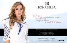 Única, bella, brillante y natural. #Bonabella ¡ Te esperamos!