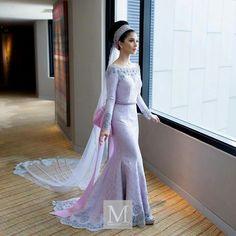 Anzalna wedding dress