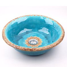 Turquoise with lace sink, original washbasin, unusual washstand, handmade ***(Made to order:primary color to order)
