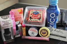 Favorite Things Party!  Invite your girlfriends over and have them pick a product six dollars or less that they they love and bring 5 of that item.  Everyone goes home with a little goodie bag!