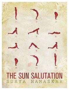 10 sun salutations ideas  sun salutation surya namaskar