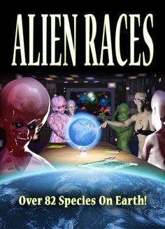 Raças Alienígenas - Mais de 82 Espécies na Terra em Contato Agora