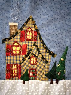 I love this little whimsical quilt!