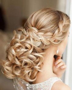 Elstile Wedding hairstyle idea