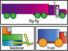 Kindergarten Geometry: Learning shapes by creating these transporters. $