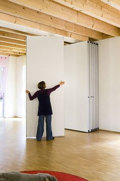 Movable Partition, Movable Walls, Corporate Interiors, Office Interiors, Dance Studio Design, Moving Walls, Open Space Office, Victorian Living Room, Sliding Wall