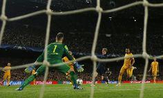 Barcelona-Atlético en imágenes