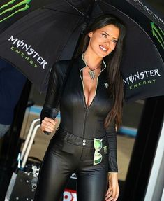 Leather Catsuit, Leather Pants, Beautiful Models, Gorgeous Women, Monster Energy Girls, Promo Girls, Grid Girls, Monokini Swimsuits, Cosplay