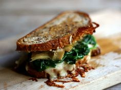 Spinach Artichoke Grilled Cheese and 35 Ooey Gooey Grilled Cheese Recipes