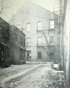 Alley behind Ford's Theater - 1865