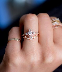 Winter Forest Diamond ring - Audry Rose  ringsideas Wedding Rings For  Women 6ccac3ffafc4