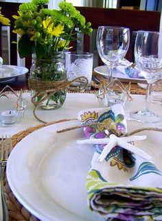 Pretty Tablescape by hisugarplum