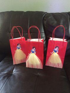 Disney Princess Snow white Birthday favor 6 by FantastikCreations