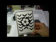 May 30, 2014 UdderlyAwesome Stamping From The Heart: Video: Chevron Punch Card