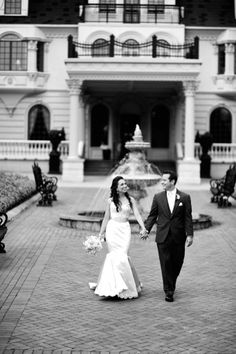 NJ Wedding at the beautiful Ashford Estate of Allentown • Bride's Gown: Lazaro; Hair & Makeup: Red Carpet Brides; Groom's Attire: Allure Bridal; Jenny Orsini Events; Photography by Ricky Restiano • New Jersey Bride Real Weddings • www.newjerseybride.com/realweddings