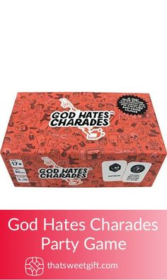 God Hates Charades Party Game Charades, Gamer Gifts, Party Games, Game Room, Hate, Geek Stuff, God, Geek Things, Dios