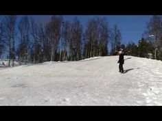 Jumping into shooting stars on a broken sled