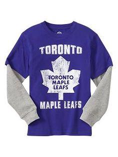 Toronto Maple Leafs hockey graphic T | Gap Kids Scarborough Town Centre. #hockey #tshirt #Toronto #boys