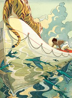 The New Yorker Fiction by Victo Ngai
