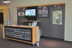 There is an unlimited array of church welcome centers. Take a look at these diff… There is an unlimited array of church welcome centers. Take a look at these different setups for ideas and inspiration to bring to your church.