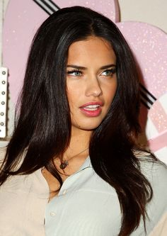 Adriana Lima. Hair. Yup.