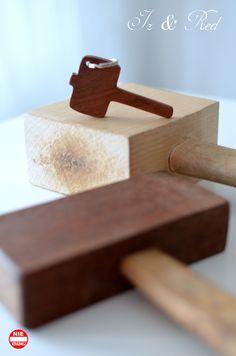 breloczek, narzędzia stolarskie, pobijak