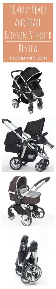 iCandy Peach and Peach Blossom Stroller Review Double Stroller Double Pram Multiple Baby Stroller | www.mamamim.com