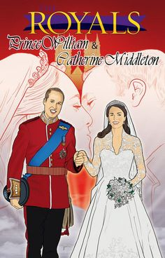 Yes, my fellow nerds, there are comics about the royal family: specifically Princes William, Harry & George, along with Catherine, Duchess of Cambridge.