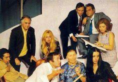 Πέτρος Λοχαιτης, Αλίκη Βουγιουκλάκη , Δημήτρης Παπαμιχαήλ , Νίκος Τσουκας, Τζολυ Γαρμπή, Σπύρος Καλογηρου κ.α. από  θεατρική παράσταση 1969.