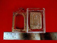 Thai Amulet Phra Somdej KEJ Chai Yo Buddha Blessed Cased Temple Box Charm Monk   eBay