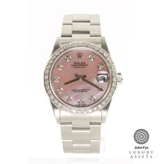 #Rolex Datejust Midi Stainless Steel Automatic #Watch
