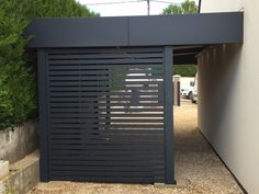 # cochera-alu-dijon-nord carport-alu-dijon-nord Though old around notion, this pergola continues to Carport Alu, Carport Garage, Pergola Carport, Pergola Patio, Backyard, Carport Designs, Pergola Designs, Pergola Ideas, Garage Design