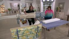 Create a custom look in your home with this no-sew window treatment kit. Page 1 Small Windows, Window Design, Fabric Decor, Window Treatments, Toddler Bed, Projects To Try, Qvc, Bedroom, Sewing