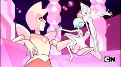 Steven universe, su, blue pearl, yellow pearl, yellow diamond.