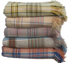 uh oh. Antique Welsh Blankets...