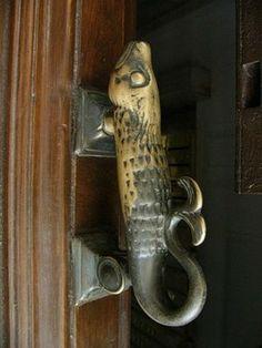 fish door handle, posted via misc2blog.blogspot.com