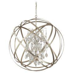Bruna 6-Light Pendant in Winter Gold  at Joss and Main
