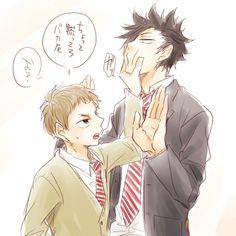 Kuroo Tetsurou & Yaku Morisuke (KuroYaku) - Haikyuu!! / HQ!!