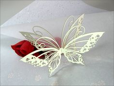 Butterfly Wedding Favours / Decorative Butterflies  by Taviori, $147.00