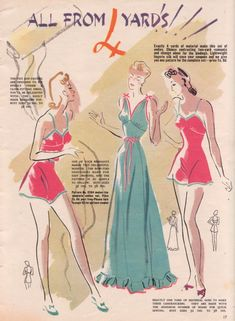 Tuppence Ha'penny: {Style Inspiration} Early 40s Lingerie