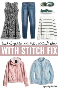 Stitch Fix is a perfect way to build up your teacher wardrobe! Comfort meets fashion with these teacher approved styles!